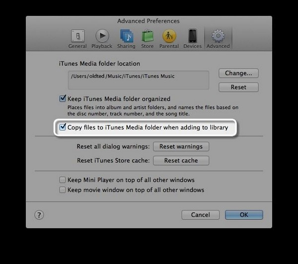 ipod manually manage music and videos